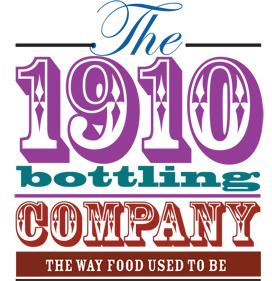 The 1910 Bottling Company logo-colour