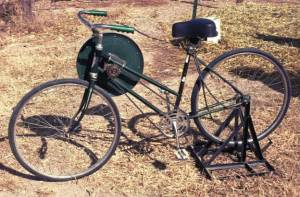Dual purpose bicycle ebenezer