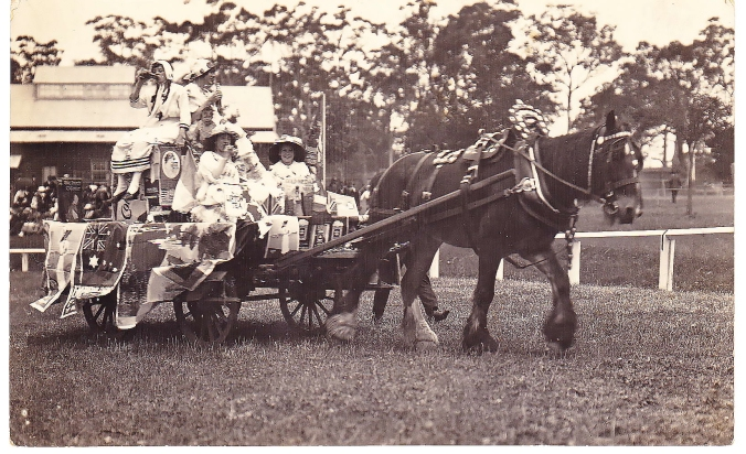 Local show parade